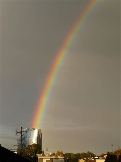 rainbow house beautiful nature phenomenon vector logo icon rainbow refraction phenomenon free stock photos in jpeg