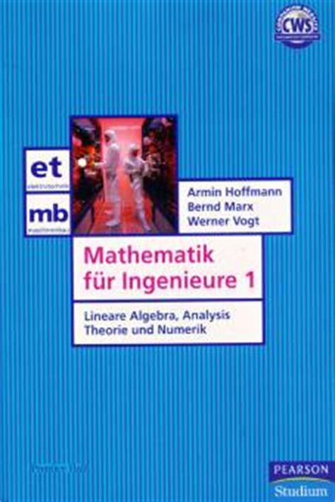 Mathematik F 252 R Ingenieure 1 Lineare Algebra Analysis