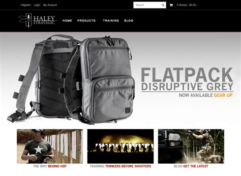 strategic flatpack soldier systems daily strategic partners hsp website 2 0 launch