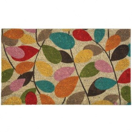 Pretty Welcome Mats Colourful Door Mat Pretty 45 Decor Accents For