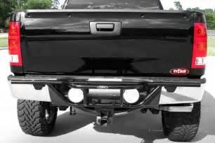 n fab 174 chevy silverado 2014 pre runner style black rear