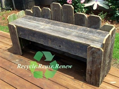 recycled garden bench unavailable listing on etsy