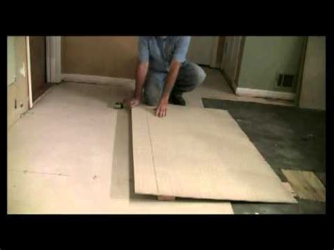 Installing Hardie Board Floor by How To Install Hardie Board For Floor Tile