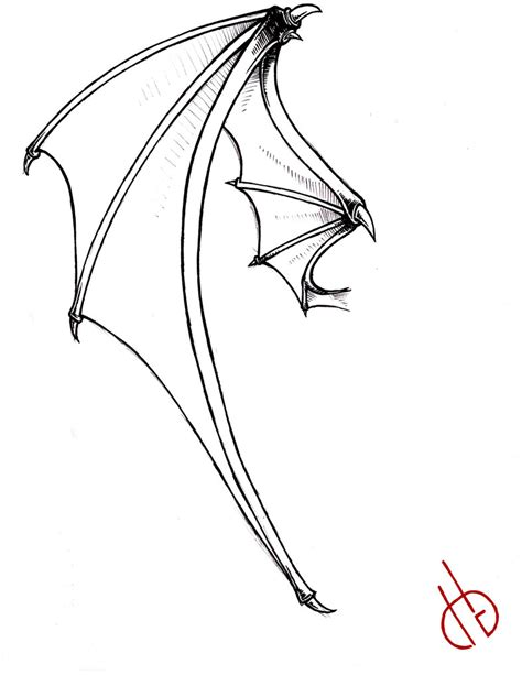 bat wing tattoo bat wing by bakero ichiban on deviantart
