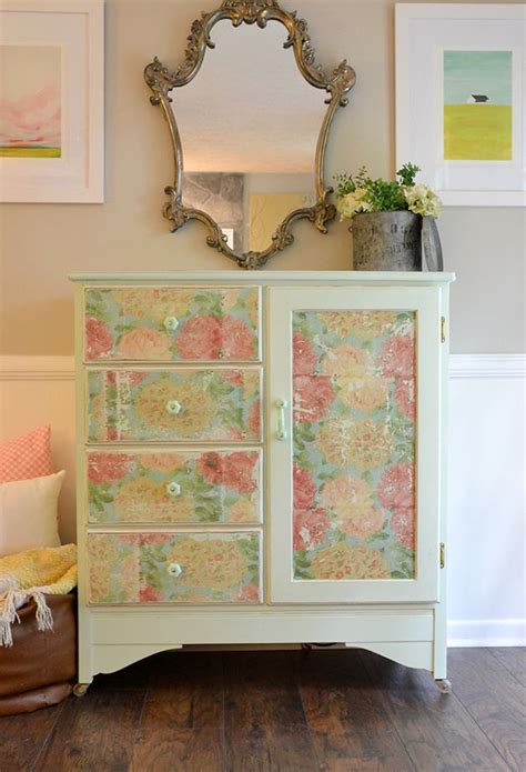 How To Decoupage Wood - 268 best decoupage furniture images on