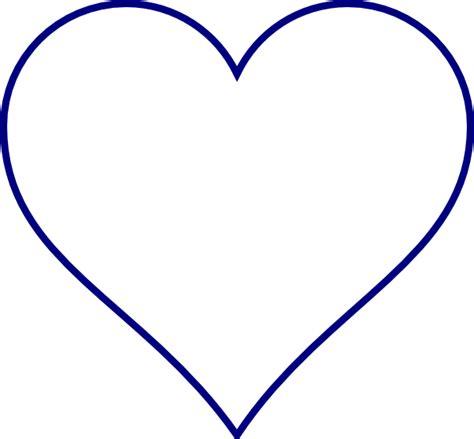 printable clip art hearts blue heart clip art at clker com vector clip art online