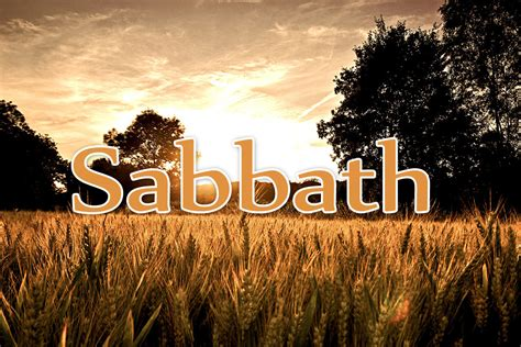 which day is the sabbath day question ministerial academy