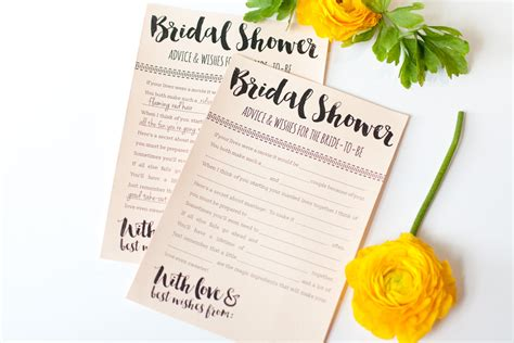 bridal shower advice ideas best wedding advice for the contemporary