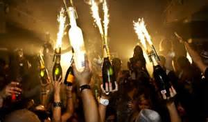 Champagne Bottle Sparklers   Club Sparklers   ViP Sparklers