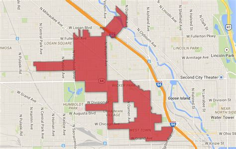 Chicago Alderman Map by Chicago S Most Gerrymandered Wards