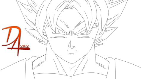 imagenes de goku vs naruto para colorear goku para colorear by diegossjeditions on deviantart