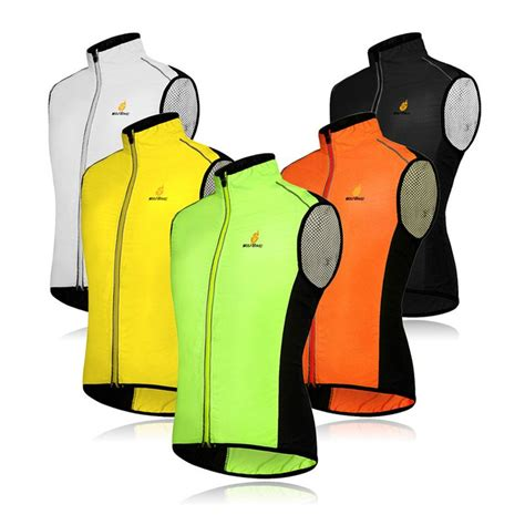 bike riding vest windproof cycling vests men women riding bike sleeveless
