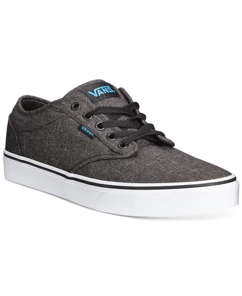 vans sneakers mens vans s atwood sneakers in gray for black save
