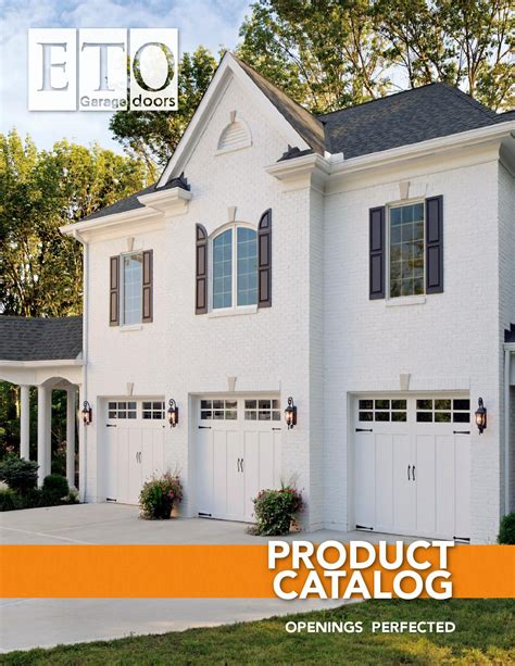 eto garage doors product catalog by avocado creative issuu