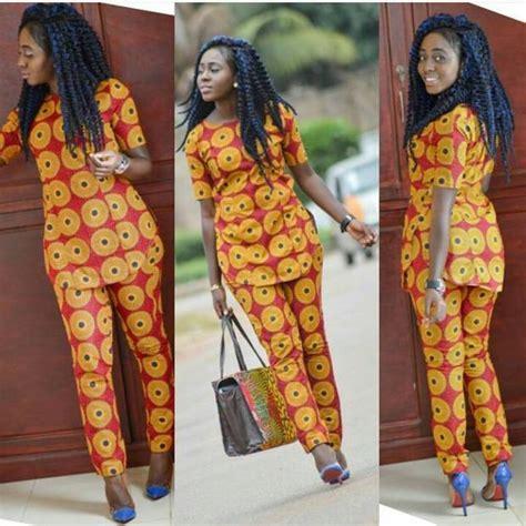 ankara with trouser up nd down trending ankara pants for ladies afrocosmopolitan