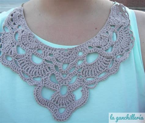 pattern crochet lace collar 73 best collars patterns images on pinterest crochet