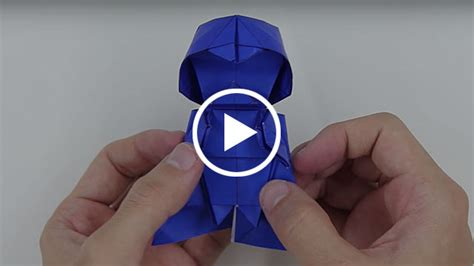 How To Make Darth Paper - origami darth vader on devour