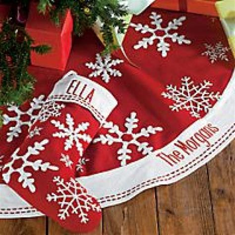Tree Skirt Personalized - personalized tree skirt trees the