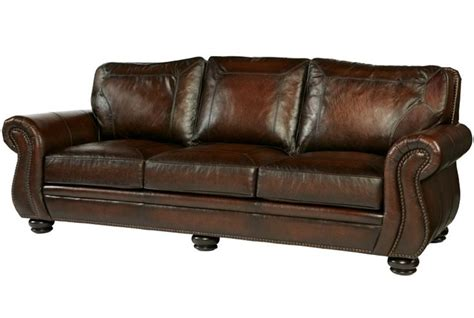 bernhardt breckenridge leather sofa for the home