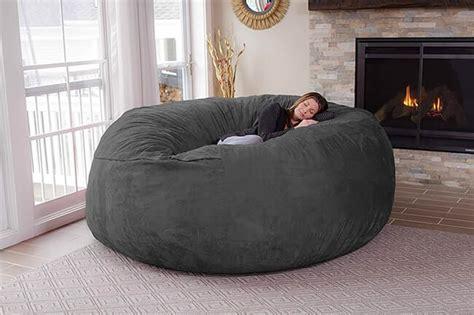 sofa puff gigante deja de pensar