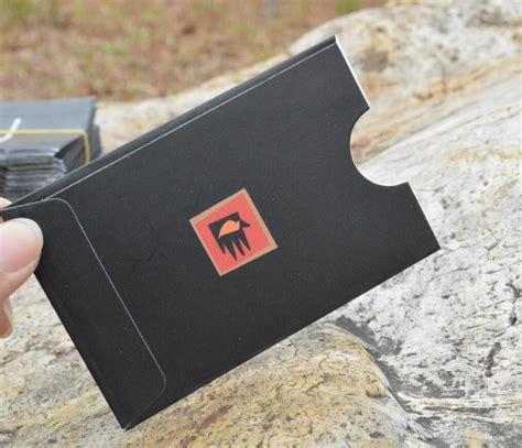 Plastic Gift Card Sleeves - gift card envelopes and sleeves business card envelopes
