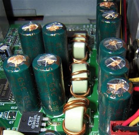 nichicon capacitor plague be aware of capacitors electronics