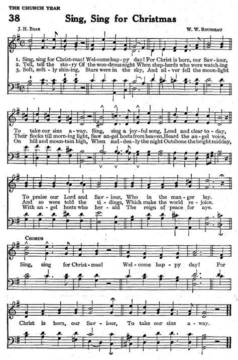 sing swing sing sing sing for christmas