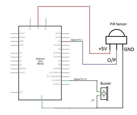 wiring diagram for pir sensor wiring diagram with