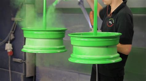 spray paint vs powder coat powder coating how rims are being coated colored