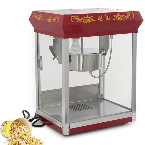 popcorn machine retro style electric maker tabletop popper