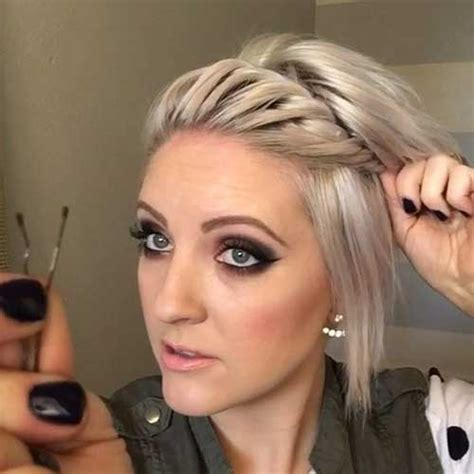 ways to style a line hair best short hairstyles in 2016 short hairstyles 2017