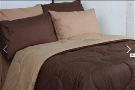 Sprei Set Size Mahagoni Coklat sprei polos pelangi bedcover kombinasi grosir murah