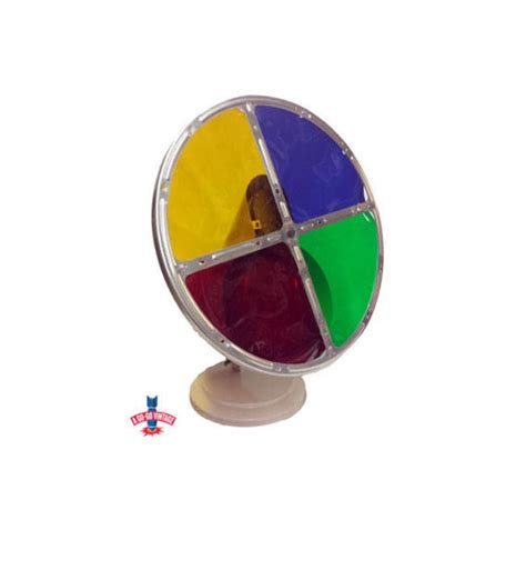 rotating color wheel for tree vintage tree color wheel aluminum silver tree