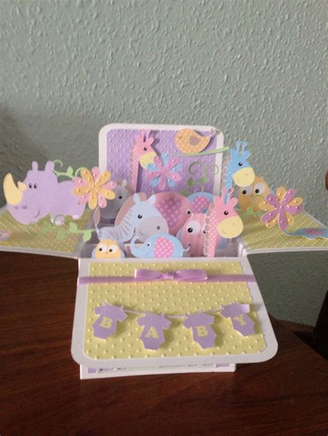 Pop Up Crib Card Template by 17 Best Images About Cards Ideas On Cricut