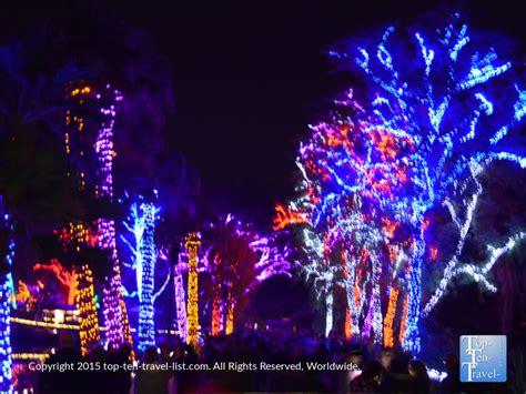zoo lights in az attraction of the week zoo lights top ten