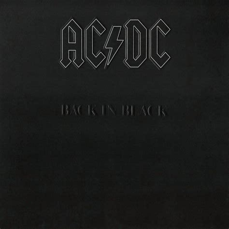 back in black back in black album by ac dc charts