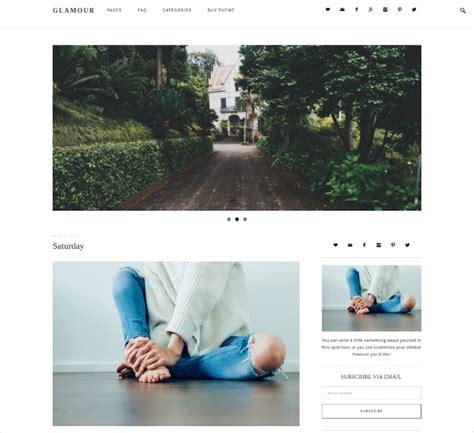50 best minimalist wordpress themes templates design