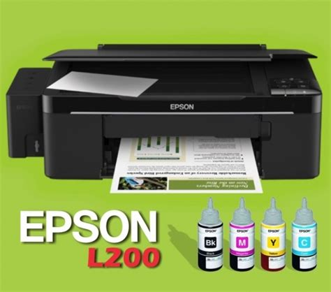 Printer Epson L200 epson l200 multifunction printer clickbd