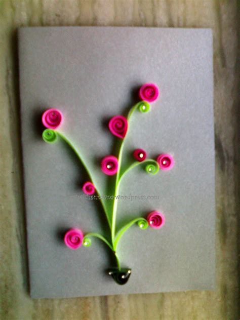 ideas easy easy quilling ideas easy arts and crafts ideas