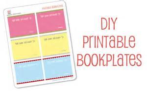 Free Printable Bookplates Templates by Bookplate Templates Printable