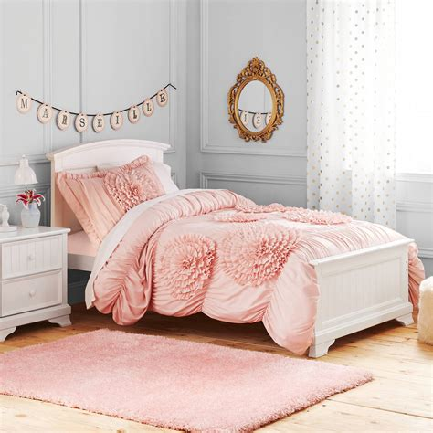 better homes and gardens kids ruffled flowers bedding