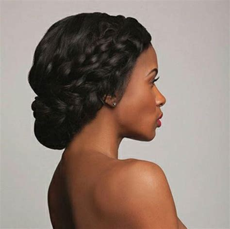 hairstyles for short hair double crown it s that time again 20 best african american wedding