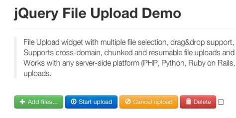 7 javascript ajax file upload plugins