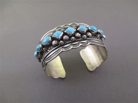 sterling silver sleeping turquoise navajo