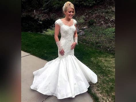 Wedding Dress Sweepstakes - toilet paper wedding dresses stun in annual contest abc news