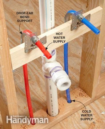 how to install pex pipe sink pex supply pipe everything you need to handyman
