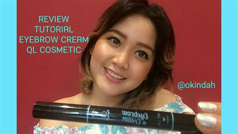 Ql Cosmetic Eyebrow 15 Gr ql cosmetic eyebrow review tutorial must try