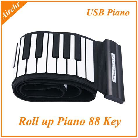 Usb Roll Up Piano 5pcs lot by dhl ems 88 key usb midi roll up piano silicon roll up jpg