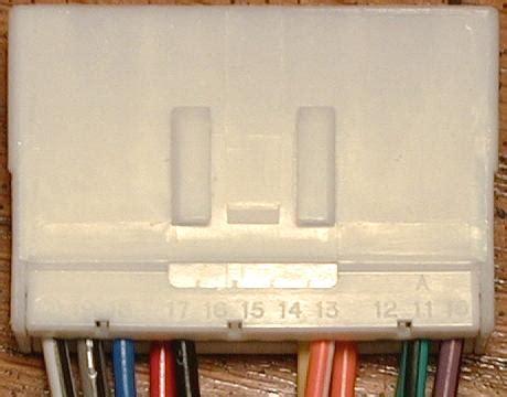 subaru legacy outback baja radio harness pin