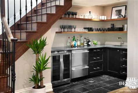Kitchen Design With Basement Stairs Bar Design Ideas